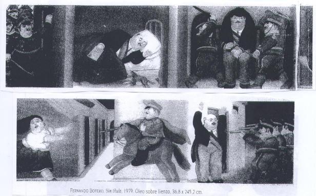 Etude et Explication du tableau - El Cuadro de Botero - Cours d'Espagnol.com