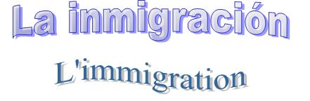 Cours d'espagnol - Apprendre l'Espagnol en ligne facilement - Fiches de vocabulaire - Vocabulaire sur l'immigration - la inmigración en Español